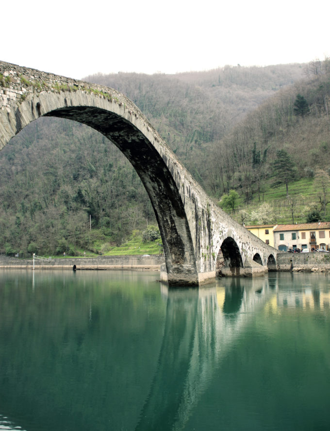 Lucca Ponte della Madallena Devils Bridge