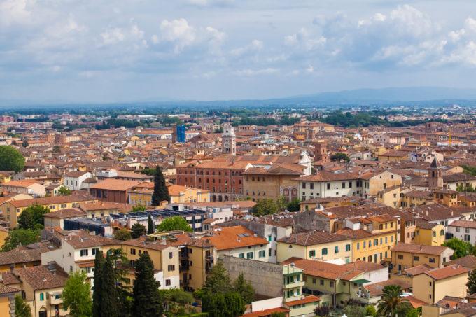 Pisa i Toscana